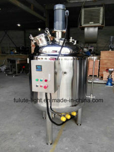 Stainless Steel Electric Heating Oil Jacketed Mixing Tank 500L pictures & photos