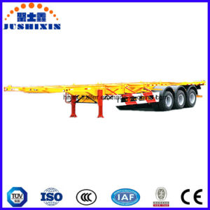 Two or Three Axles Skeletal Container Truck Trailer pictures & photos