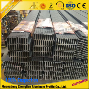 Aluminium Tube Aluminum Rectangular Tubing for Aluminum Profile Manufactured pictures & photos