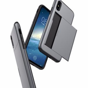 High Quality PC+TPU with Plug in Card Phone Case for iPhone8 pictures & photos