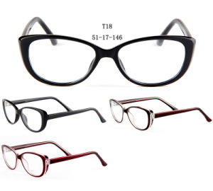 New Design Cat Eye Cp Optical Frames Eyewear Spectacle pictures & photos