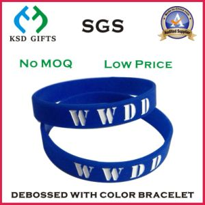 Promotion Imprint Your Logo on Giveaway Plastic Wrist Band pictures & photos