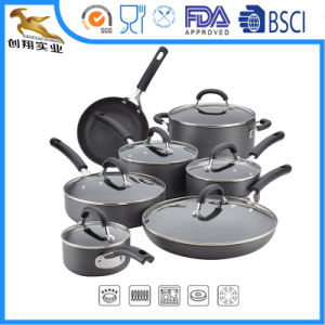 Nonstick Hard-Anodized Cookware Set 13-Piece Home Appliance (CX-AS1301) pictures & photos