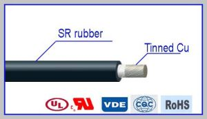 High Voltage High Temperature Resistant Silicone Rubber Cable pictures & photos
