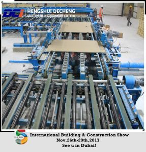 2 Million Sqm Year Full Automatic Gypsum Board Making Machinery Turn Key pictures & photos