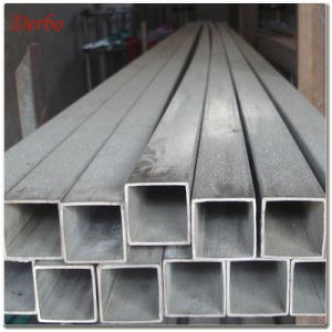 40X40X3mm 304 Ss Rectangular Tube for Rack Building pictures & photos