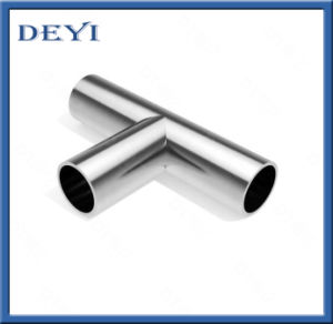 Stainless Steel Sanitary Pipe Fitting 3A Thread Equal Tee pictures & photos