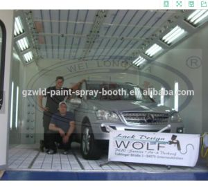 Wld8400 Auto Spray Booth with Water Based Paint System pictures & photos