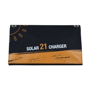 21W Sunpower Foldable Flexible Soft Elastic Portable Solar Mobile Phone Power Panel Cloth Charger Factory Original pictures & photos
