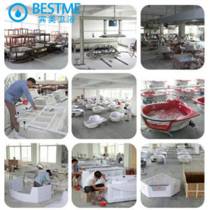 China Suppliers Indoor Acrylic Bathtub with Simple Design (6206) pictures & photos