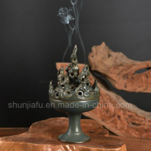 Unique Tripod Type Ceramic Incense Burner pictures & photos