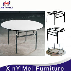 Folding Round Wedding Restaurant Hotel Banquet Table (XYM-T01) pictures & photos