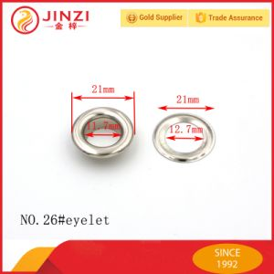 Jinzi Hardware Accessories Shoe Lace Metal Eyelet pictures & photos