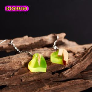 Fashion Girls Love Handmade Resin Wood Earring Jewelry pictures & photos