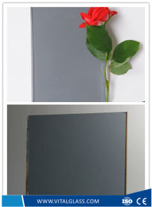 Ocean Blue Reflective Glass/Toughened Tempered Glass/Tinted Float Glass pictures & photos