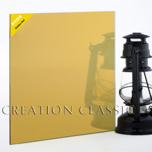 Golden Reflective Glass for Decorative Glass/Window Glass pictures & photos
