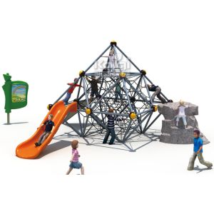 Famous Outdoor Climibing Fitness Park Playground Equipment (KQ60143B) pictures & photos
