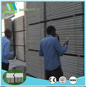 Heat Insulation Fireproof Concrete Cement EPS Sandwich Panel for Wall pictures & photos