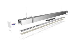 3360 LED Linear Pendant Light Aluminium Profile for LED Strip pictures & photos