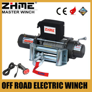Heavy Duty 9500lbs 12V Engine Powered Winch with Wire Rope pictures & photos