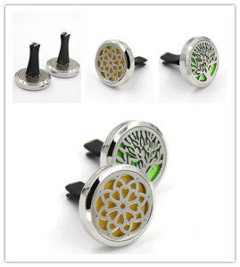 2017 Stainless Steel Essential Oil Aromatherapy Locket Diffuser Car Air Freshener