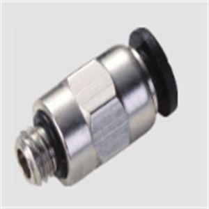 PC Male Straight Mini Pneumatic Fitting pictures & photos