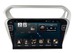 New Ui Android 6.0 Car GPS Navigation for Peugeot 301 2014 with Player