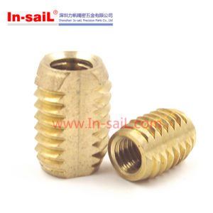 Brass Insert Nut for Plastic Equitment pictures & photos