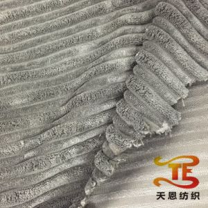 100% Polyester Blanket Fabric for Home Textile Upholstery Usage for Blanket pictures & photos