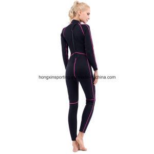 Women`S Long Neoprene Surfing Wetsuit (HX-L0172) pictures & photos