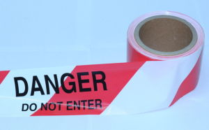 Warn Tape with Peligro Rfx Danger Tape Warning Tape Caution Tape Barrier Tape pictures & photos