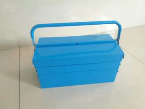 2 Folders Professional Iron Tool Box (FY13A-1) pictures & photos
