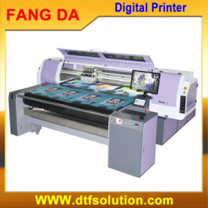 Low Cost Digital Pigment Printer for Pieces and Fabric Roll pictures & photos