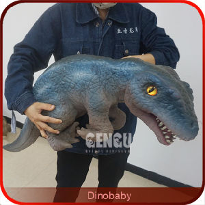 Children Playground Equipment Realistic Dinosaur Puppet for Sale pictures & photos