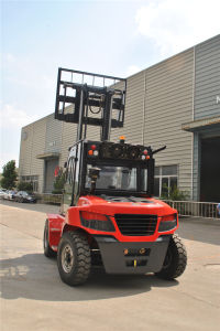 IC Diesel Forklift Capacity 6000kgs pictures & photos