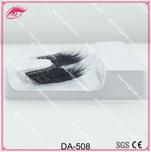 Private Label Natural 3D Artificial Mink Fur Eyelash pictures & photos