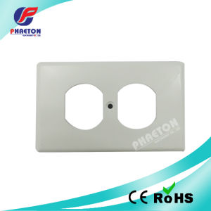 Safety Plug Socket Coversled Wall Plate Duplex Faceplate pictures & photos