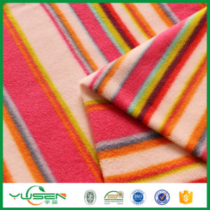 Super Soft High Quality 100%Polyester Polar Fleece for Garments and Hometextile pictures & photos