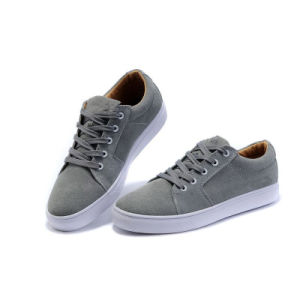 Grey Men Shoes Classical Skateboard Shoes pictures & photos