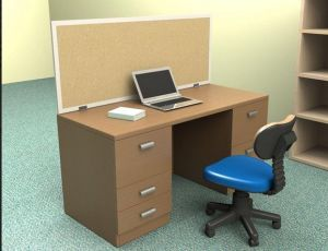 Hot Slling Fashion Environmental Board Fireproofing Modular Office Desk Screens pictures & photos