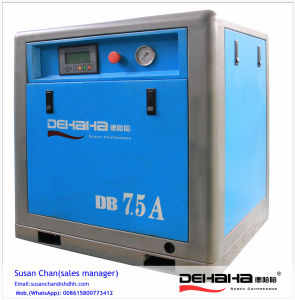 High Efficient Direct Driven Screw Compressor Combined with Tank and Dryer pictures & photos