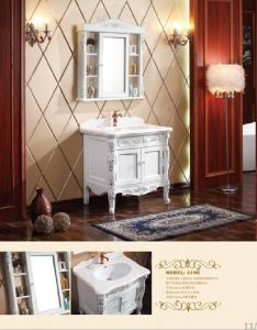 Sanitary Ware Bathroom Cabinet with European Archaize Series (6106) pictures & photos
