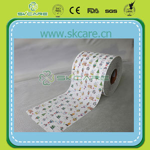 Cotton Frontal Tape for Wholesale Baby Diaper Raw Material pictures & photos