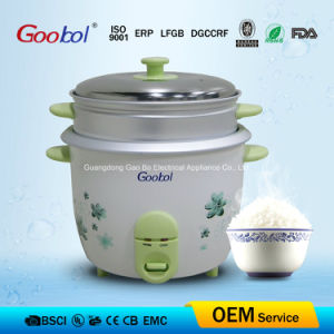 Classic Rice Cooker with Beautiful Flower Printing Cooker and Keep Warm Function pictures & photos