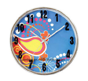Hot Selling Colorful Customized Wall Clock with Great Price pictures & photos