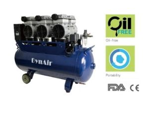 Silent Oil Free Air Compressor for Six Dental Unit pictures & photos