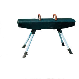 High Quality Leather Gymnastics Pommel Horse for Sale pictures & photos