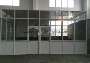 Cy Customized Aluminiun Partitiuon Workshop Wall pictures & photos