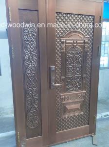 Foshan Woodwin Security Entrance Door Pure Copper Door pictures & photos