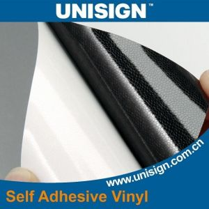 Economic Black Back Adhesive Vinyl for Printing pictures & photos